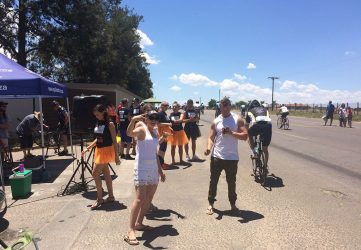 94.7 cycle challenge 2017 Cedar road